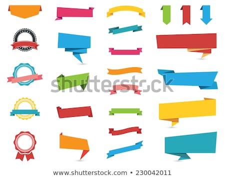 Vektör fiyat satış tanıtım etiket dizayn Stok fotoğraf © thanawong