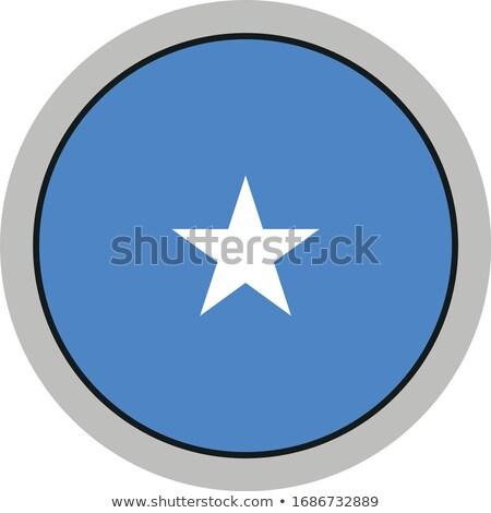 Ikona banderą Somali odizolowany biały podróży Zdjęcia stock © MikhailMishchenko