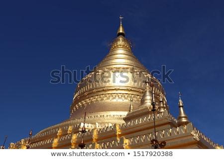 Myanmar · oude · landschap · top · verbazingwekkend - stockfoto © kasto