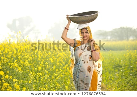 Homme · agriculteur · permanent · fertile · agricole · ferme - photo stock © stevanovicigor