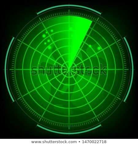 vector green radar Stock photo © Pinnacleanimates