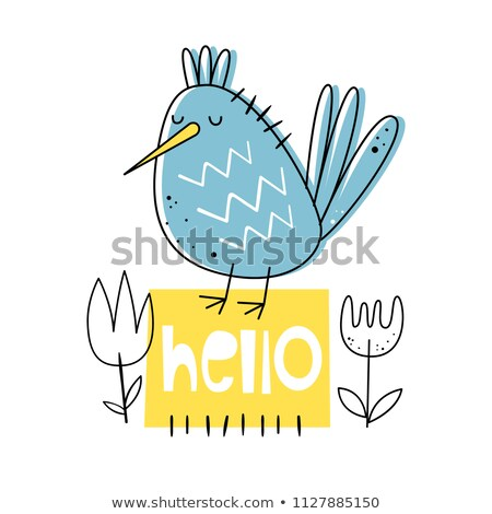 Hello - Stylized Text Stock photo © HelenStock