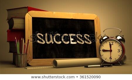 Time for Solutions. Inspirational Quote on Chalkboard. Stock photo © tashatuvango