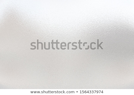 Frosting on glass. Frosty pattern background Stock photo © orensila