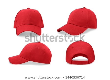 blue with red baseball cap isolated Stock photo © shutswis