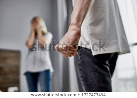 domestic violence Stock photo © ongap