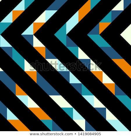вектора · простой · сложенный · черный · бумаги · цвета - Сток-фото © imaster