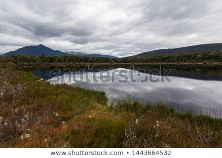 Spirit lake at Kepler track Stock photo © lostation