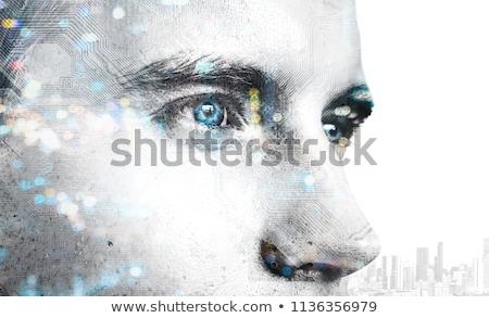 Stock fotó: Okos · specialista · portré · komoly · üzletember · néz