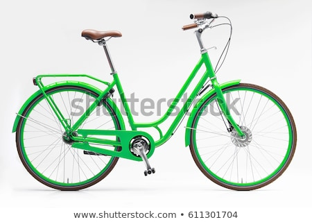 A green bike Stock photo © bluering