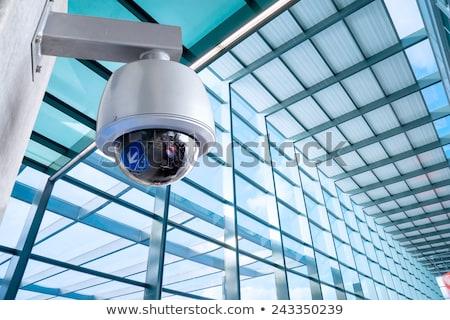 Aparatu bezpieczeństwa pociągu wideo bezpieczeństwa bezpieczne Zdjęcia stock © pixinoo