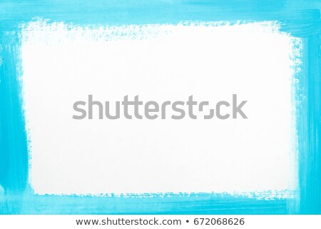 Abstrato artístico detalhado azul fronteira quadro Foto stock © pathakdesigner