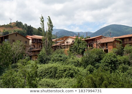 Village district Chypre maison forêt nature Photo stock © Kirill_M