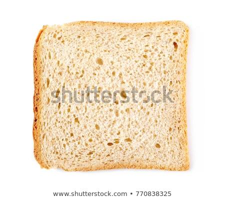 Knapperig gebakken witbrood brood Stockfoto © Digifoodstock