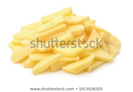 Stock fotó: Hámozott · nyers · krumpli · héj