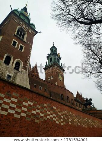 Krakkó óváros köztársaság épület utazás Stock fotó © Estea