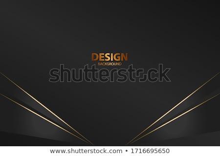 Vektor szín absztrakt mértani szalag háromszög Stock fotó © fresh_5265954