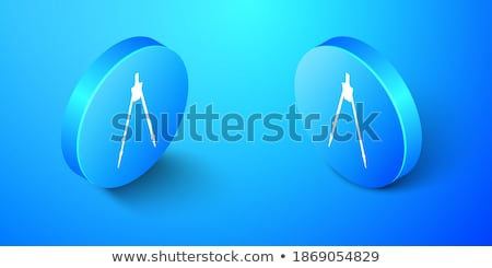 вектора изометрический геометрический изолированный белый аннотация Сток-фото © curiosity