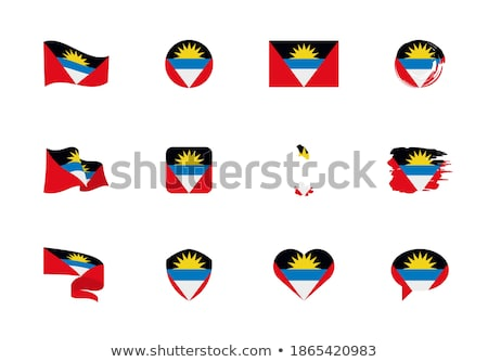 сердце флаг вектора изображение солнце дизайна Сток-фото © Amplion