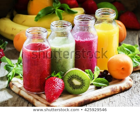 colorful healthy juices stock photo © stokkete