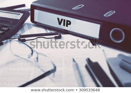 Expense on Ring Binder. Blured, Toned Image. Stock photo © tashatuvango