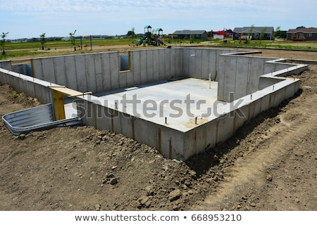 Stock photo: Concrete Foundation