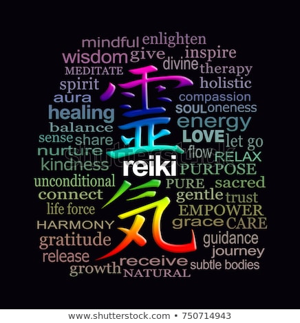 Reiki Precepts Stock photo © cienpies