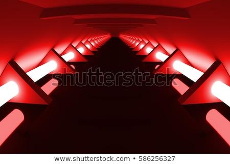 Stok fotoğraf: Soyut · modern · mimari · boş · açmak · uzay · iç