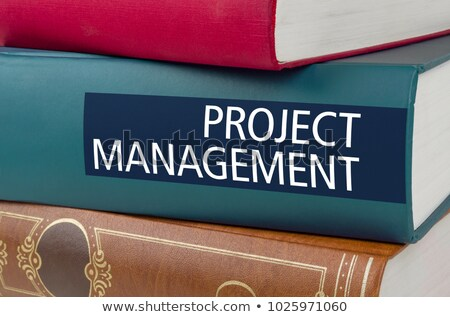 A book with the title Project Management written on the spine Stock photo © Zerbor