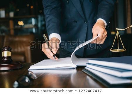 Modest Businessman Stock photo © lisafx
