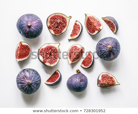 Fresh figs from above Stock photo © dash