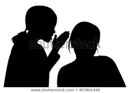 Group of friends tell secrets talking with each other. Stock photo © deandrobot