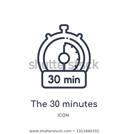 Isolato cronometro icona trenta secondi clock Foto d'archivio © Imaagio