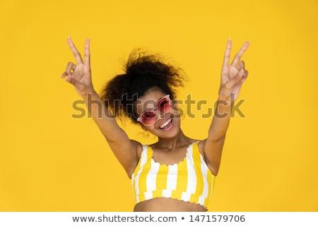 ストックフォト: 画像 · トレンディー · ヒップスター · 女性 · 着用 · スタイリッシュ