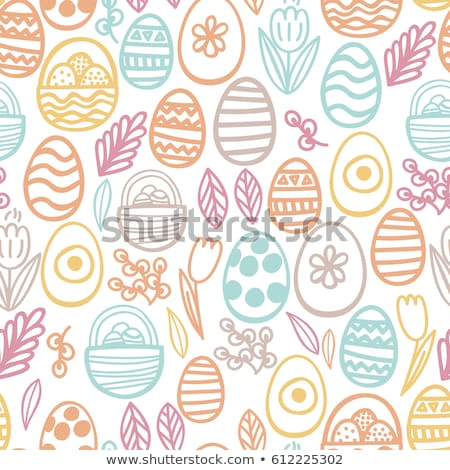Пасха · яйца · белый · природы - Сток-фото © artspace