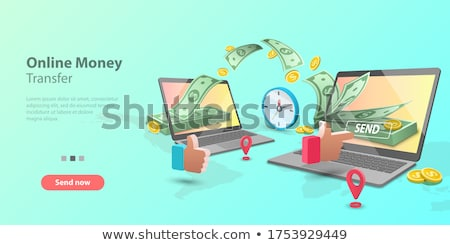 mobile payments 3d template 2 Stock photo © Genestro