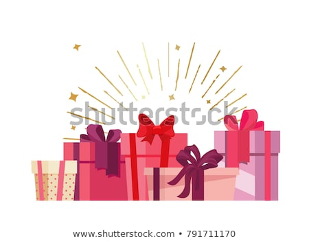 web pages with text and boxes presents and gifts stock photo © robuart