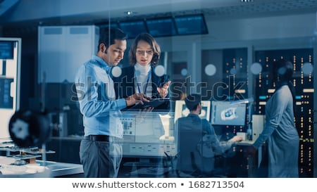 Man with Solution for Business, Creative Chief Stock photo © robuart