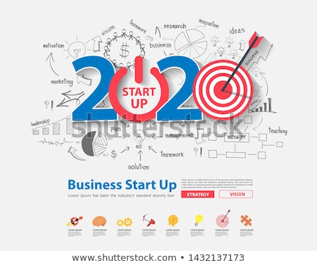 Business graph up with 2020 stock photo © Oakozhan