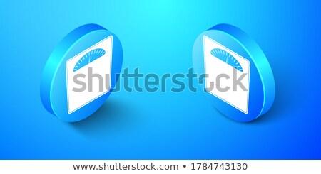 vektör · banyo · ağırlık · ölçek · ikon · kare - stok fotoğraf © anna_leni
