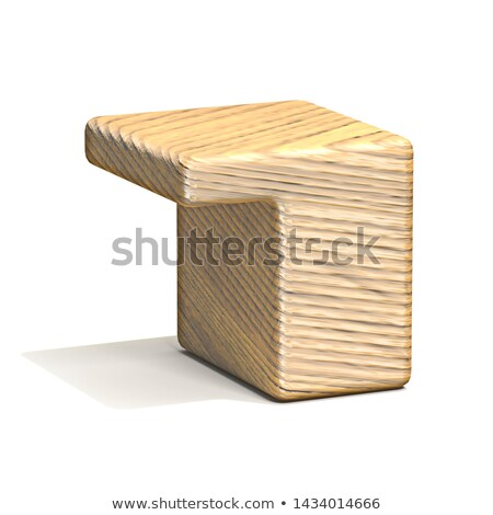 Sólido cubo fuente número siete Foto stock © djmilic
