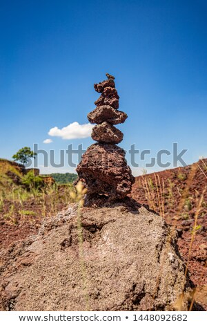 Slag formed from oxides Stock photo © grafvision
