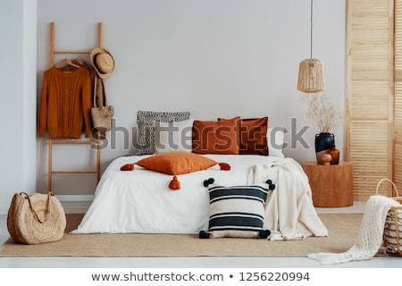 木製 ルーム 表 1泊 階 ストックフォト © magraphics