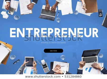 Vision about new business ventures. Stock photo © lichtmeister