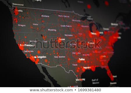 coronavirus · virus · griep · gevaarlijk · griep - stockfoto © lightsource