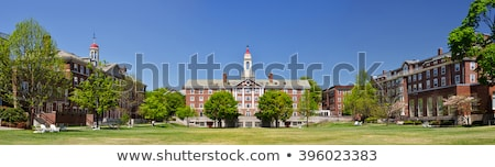 Historic university buildings Stock photo © elxeneize