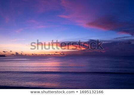 Elképesztő tengeri kilátás gyönyörű álomszerű tájkép felhők Stock fotó © Anna_Om