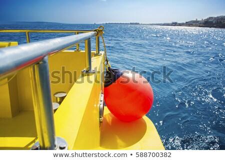 Foto stock: Mar · lado · rescate · vehículo · listo · playa