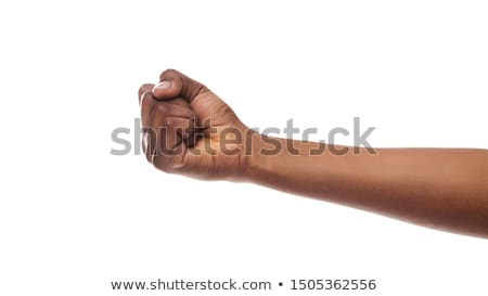 clenched fist hand stock photo © hermione