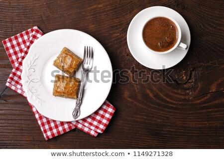 деревне кофе до 80 слой кофейный столик продовольствие Сток-фото © shamtor